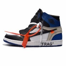 f2823baa25b4 Nike The 10 Air Jordan 1 OFF WHITE Men s Basketball Shoes Red Shock  Absorption Wear Resistant Breathable AA3834 101