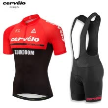 UCI 2018 pro team Cervelo men s summer short sleeve cycling jersey bib shorts  kit breathable Bicycle jersey MTB bike clothing 75a0c5cda
