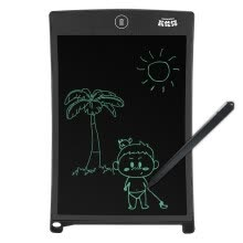 touch-pads-Karen Cat (KALRENCAT) H8S 8.5-inch children's graffiti painting tablet LCD electronic tablet family message memo office notes board black on JD