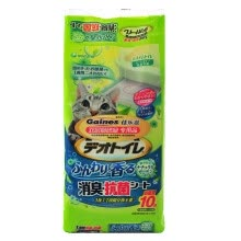 -[Jingdong Supermarket] Japanese imports Jiale Zizi (Gaines) double cat litter basin dedicated urine pad fresh garden flavor 10P installed on JD