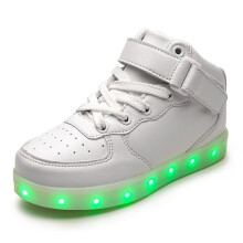 Men Shoes Led Luminous Shoes For Men Fashion Light Up Casual 7 Colors Usb Charge Led Shoes White Footwear Sneakers Zapatos Shoes Men's Shoes