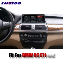 -For BMW X6 E71 2011~2014 LiisLee Car Multimedia 10.25'Touch GPS Audio Hi-Fi Radio Stereo Original Style For CIC Navigation NAVI on JD