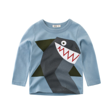 -Children's wear autumn children's long-sleeve T-shirt  Cartoon boy's pullover cotton baby clothes on JD