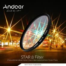 lens-filters-67mm Star Filter Kit Andoer 67mm Filter Set UV   CPL   Star 8 Point Filter Kit with Case for Canon Nikon Sony DSLR Camera Lens 67m on JD