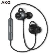 -AKG N200 WIRELESS In-Ear Wireless Bluetooth Headphones Magnetic Sports Headphones Reference Level HIFI Sound Quality Phone Can Call Meteorite Black on JD