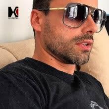fa16eee359 SHAUNA Moda mujer gafas de sol cuadradas marca diseñador hombres gradiente  lente sombras UV400