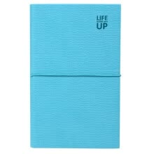 -Morning light (M & G) APYF7802 portable 48K strap leather leather leather diary notebook 96 pages blue on JD