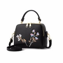-women double zipper sequined embroidery small flap handbag ladies purse famous brand messenger crossbody shoulder bags on JD