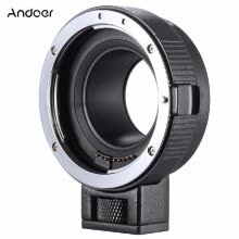 camera-lenses-Andoer Ef-eosm Lens Mount Adapter Support Auto-exposure Auto-focus And Auto-aperture for Canon Ef/ef-s Series Lens To Eos M Ef-m M on JD