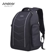 -Andoer Professional 600D Fabric Material Camera Backpack Bag for 2 DSLR SLR Cameras 6 Lenses Tripod Flash and Accessories on JD