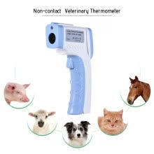 pedometers-Digital Pet Thermometer Non-contact Infrared Veterinary Thermometer for Dogs Cats Horses and Other Animals C/F Switchable on JD