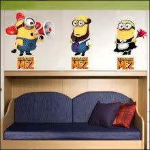 -Minions Despicable Me Self Adhesive Wall Sticker Kids Decal DIY on JD
