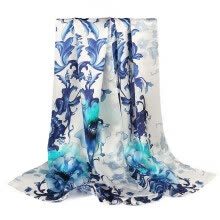 875062531-STORY Of SHANGHAI  silk scarf on JD