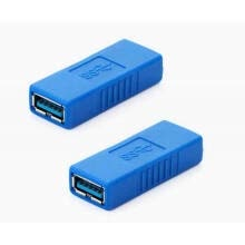 -Huayuan USB 3.0 Type-A Female to Female Super Speed Coupler Connector Extension Cable Adapter on JD