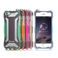 -R-JUST Aluminum Metal Shockproof Frame Armor Case Cover For iPhone 6 6S Plus 4.7 5.5 inch on JD