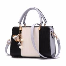 5be1a084809 women solid chains rivet totes panelled small handbag hotsale lady party  purse crossbody messenger shoulder bags