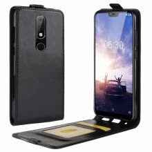 -for Nokia 5.1 Plus Flip Leather Case for Nokia 5.1 Plus for Nokia X5 Retro Wallet Case Leather Cover Cases Fundas Capa Etui> on JD