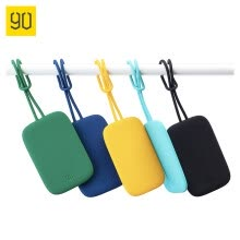 -Xiaomi MI 90 Fun bright silicone luggage tag boarding pass suitcase check bag trolley case sign in yellow on JD