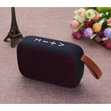 -mini bluetooth speaker column support USB memory card hand free FM radio on JD