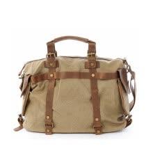 076d8f1e7d Trendy Canvas Top-handle Bag Men Women Leather Messenger Bags High Quality  Casual Handbags Brand Design Shoulder Bags