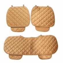 electronic-parts-Universal Winter Automobile Seating Pads Car Seat Cushion 3pcs High quality plush material,Comfortable and breathable Back on JD