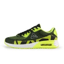 03651c164e890c PEAK men s shoes autumn and winter new retro casual shoes lightweight  non-slip wear-resistant cushion sports shoes E62797E black   fluorescent  yellow 41 ...