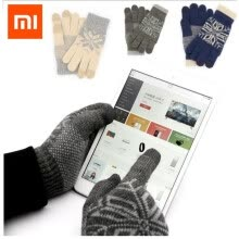 87505-Xiaomi Finger Screen Touch Gloves Winter Warm Wool Gloves For iphone 6s Xiaomi Touch Screen Phone Tablet Cash Machine on JD