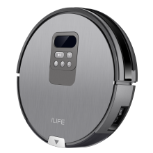 Robot-Vacuum-Cleaner-Home Using Automatic Charging Robot Vacuum Cleaner ILIFE X750 with GPS Location and High Accurate Cleaning Support Wet/Dry on JD