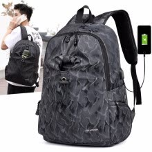 -40L Multi function USB charging men's 15 inch Notebook Backpack student bag for youth hiking, leisure travel water bag backpack on JD