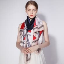 50d241a0b99ff Shanghai Story STORY Of SHANGHAI Imitation silkworm silk scarves ladies  autumn and winter casual scarf shawl simple style pink
