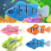 craft-gifts-Swimming Robofish Activated Battery Powered Robo Fish Kids Toy Robotic Fashion on JD