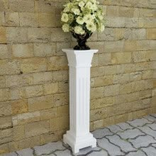 other-furniture-Classic Square Pillar Plant Stand MDF on JD
