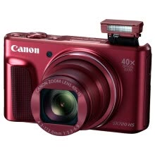 compact-digital-cameras-Canon PowerShot SX720 HS digital camera (20.3 million pixels 40 times light variable 24mm ultra wide angle) red on JD