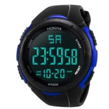 Mens Sports Watch Waterproof Digital LED Military Electronics Casual Wristwatch