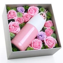 AD121 Rose Cup Set To Send Girlfriend Girl Mother Birthday Gift 520 Festival Valentines Day Practical Creative