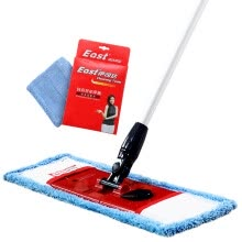 -Ita flat plate mop the mastic fiber mop cloth can be wrapped towel (send original fabric) on JD