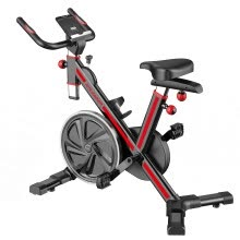 -Fitleader FS1 Stationary Exercise Bike Indoor Fitness Workout Upright Gym Cycling on JD