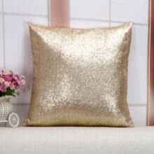 bridal-sets-New Silver Bling Shiny Glittering Scaly Sequins Pillow Case Sofa Cushion Cover on JD