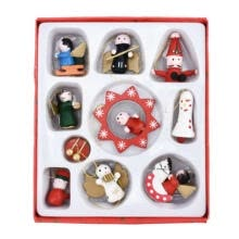 pendants-Pendant For Festive Party Christmas Decro Wooden Doll Christmas Tree Pendant on JD