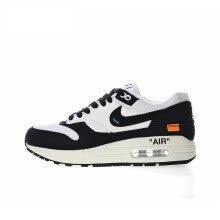 8bb0f1874ac3da Original New Arrival Authentic OFF white x Nike Air Max 1 Women s  Breathable Running Shoes Sport Outdoor Sneakers AJ9986-109