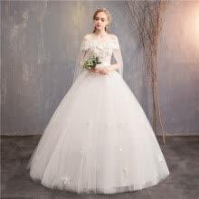 ae2f8f25e30 2019 Новое красочное свадебное платье Кружева лодочка с V-образным вырезом Принцесса  Роскошные свадебные платья с накидкой