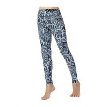 7142c617fbba Women's 2019 new yoga pants fashion digital printing nine pants