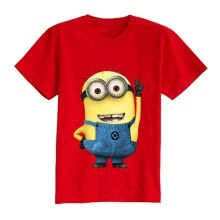 -Cartoon figure children minions clothes costume children's clothing t shirts for Kid's BOXXTY on JD
