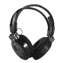 SH-S1 Headphone MP3 Player Foldable Over Ear Headset 3.5mm Wired Earphone FM Radio TF Card Music Player LCD Screen