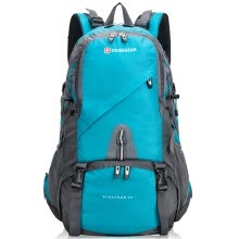 875062575-SWISSGEAR Neutral with rain cover casusl outdoor sports climbing backpack,40L,SA3140BL,Blue on JD