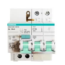 8750209-Siemens (SIEMENS) 5SU93261CR63 leakage protection circuit breaker 2P 63A with leakage on JD