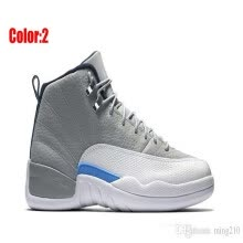ee72a322ba0157 High Quality 12 12s mens basketball shoes sneakers OVO White Gym Red Dark  Grey women Basketball Shoes Taxi Blue Suede Flu Game CNY