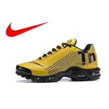 new products 50628 5b718 Original NIKE AIR MAX PLUS TN Men s Breathable Running Shoes Sports  Sneakers Trainers outdoor sports shoes AQ0243-001
