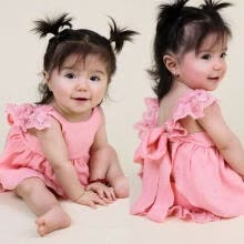 -Newborn Infant Baby Girl Princess Dress Bridesmaid Wedding Party Pageant Dresses on JD