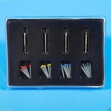two-piece-suit-1 Box Dental Fiber Set 20 pcs Fiber Post & 4 Drills Dentist Product on JD